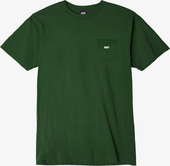 lazy-loading-gif Obey Jumbled Pocket tee - Men s Forest Green fca1b79126c96