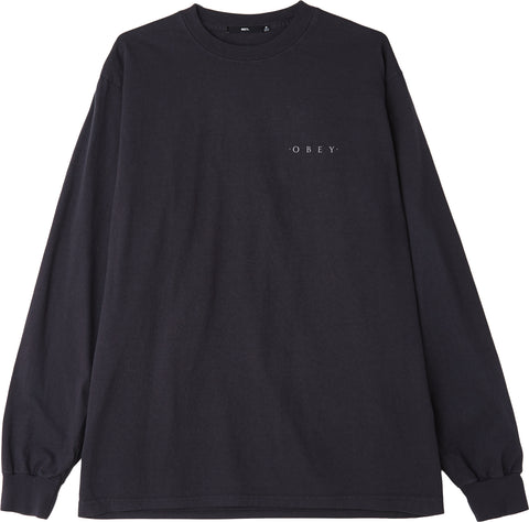 Obey Novel 3 Heavyweight Box Ls - Men's