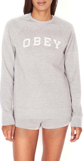 Obey Comfy Logo Crew - Women's