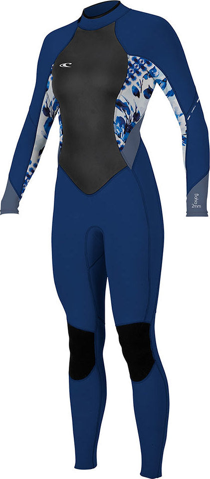 O neill Women s Bahia 3 2 Mm Back Zip Full Wetsuit  56a55f1fb