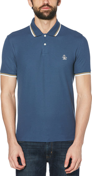 Original Penguin Pique Short Sleeve Polo Shirt - Men's