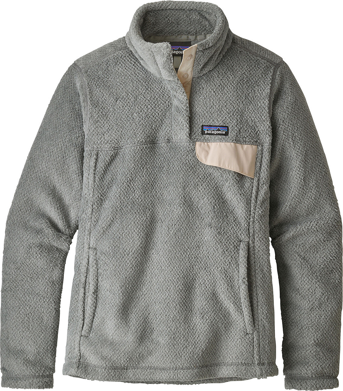 d056150c1 ... Patagonia Re-Tool Snap-T Pullover - Women's Tailored Grey - Nickel X-  ...