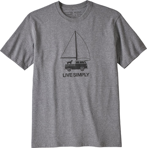 Patagonia Live Simply Wind Powered Responsibili-Tee - Men's
