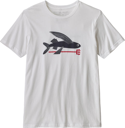 Patagonia T-shirt en coton organique Flying Fish - Homme