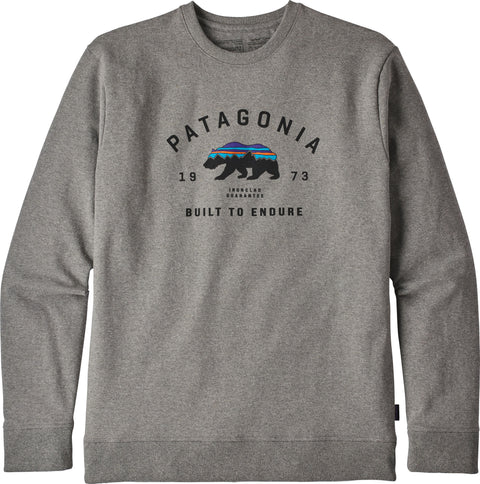 Patagonia Arched Fitz Roy Bear Uprisal Crew Sweatshirt - Men's