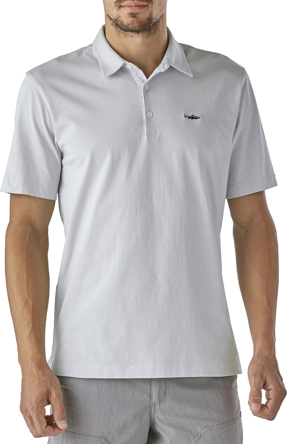0ce8cadc Patagonia Polo - Trout Fitz Roy - Men's | Altitude Sports