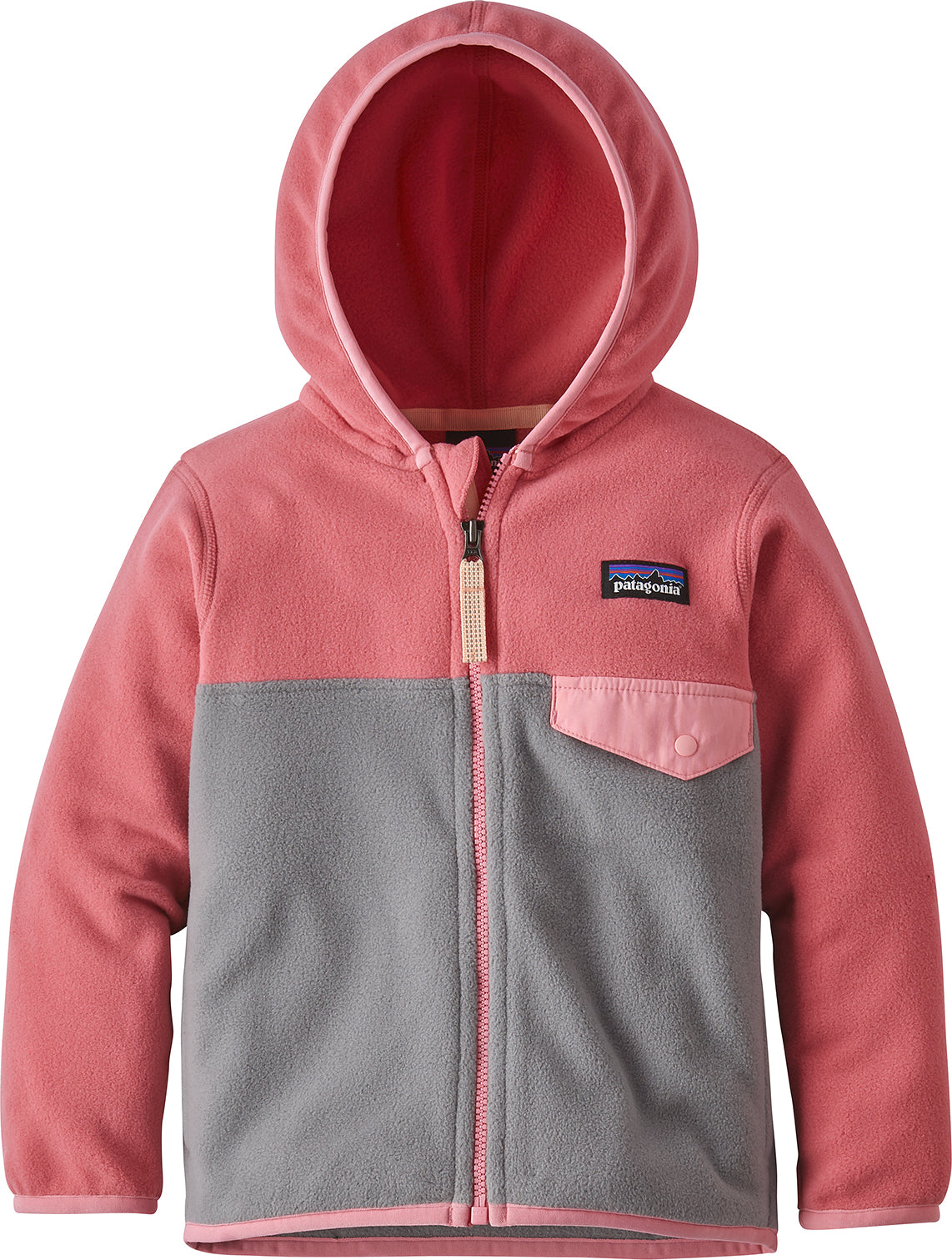 0fa33bd33 ... Micro D Snap-T Jacket - Baby's Feather Grey - Sticker Pink ...
