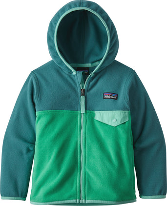 1acf6b93f5a19 lazy-loading-gif Patagonia Micro D Snap-T Jacket - Baby s Nettle Green