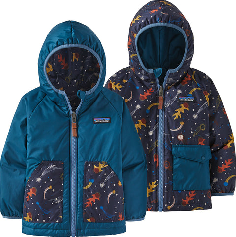 Patagonia Reversible Puff-Ball Jacket - Baby