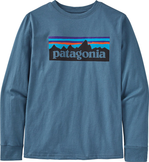 Patagonia Long-Sleeved Graphic Organic T-Shirt - Boys
