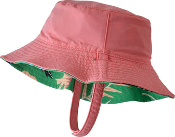 744952b6 Loading spinner Patagonia Sun Bucket Hat - Baby's Ferns and Felines -  Nettle Green