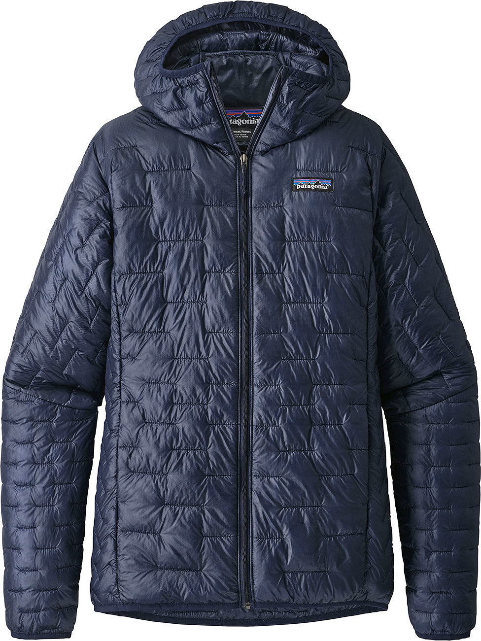 f7cc5a98546c Micro Puff Hooded Jacket - Women s Classic Navy ...