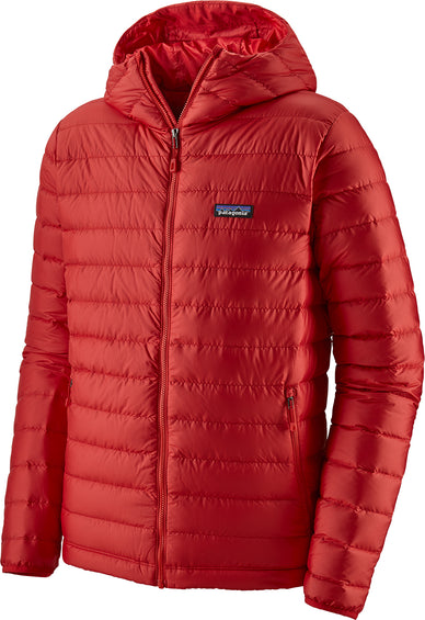 Patagonia Down Sweater Hoody Down Insulated Jacket - Men's - Fire - Fire