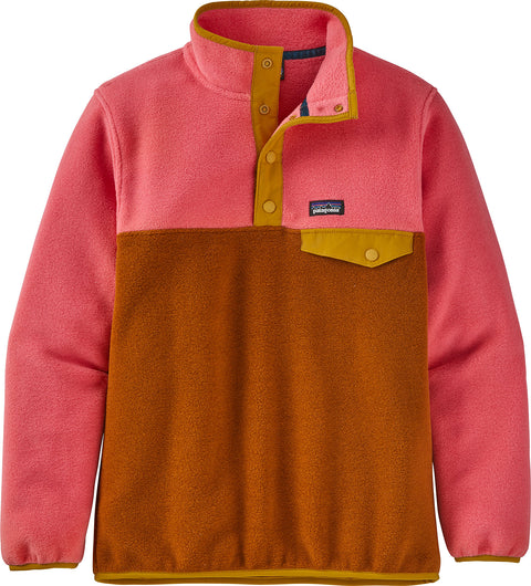 Patagonia Lightweight Synchilla Snap-T Fleece Pullover - Girls