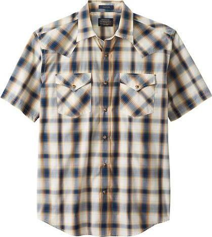 Pendleton Frontier Short Sleeve Shirt - Men's