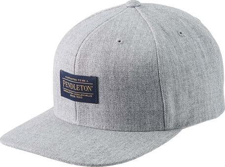 Pendleton Logo Flat Brim Hat - Men's