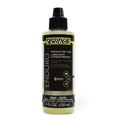 Pedro's Enduro Premium Wet Lube 4 oz/120 ml