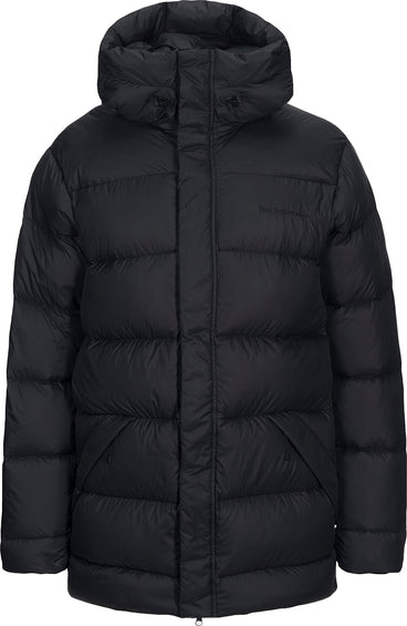 Peak Performance Pertex Frost Down Long Hooded Jacket - Men's