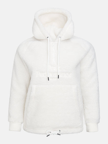 Peak Performance Original Pile Half Zip Hood - Women's