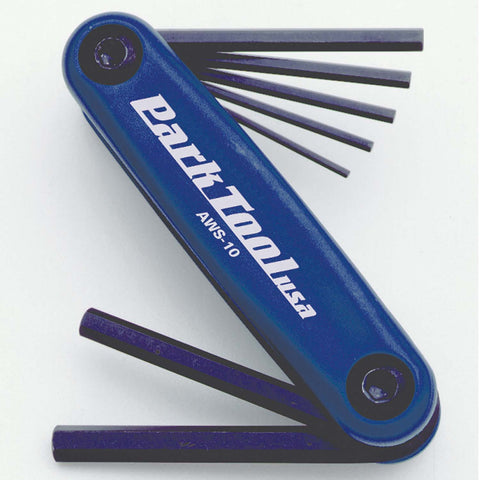 Park Tool AWS-10 Folding hex wrench set