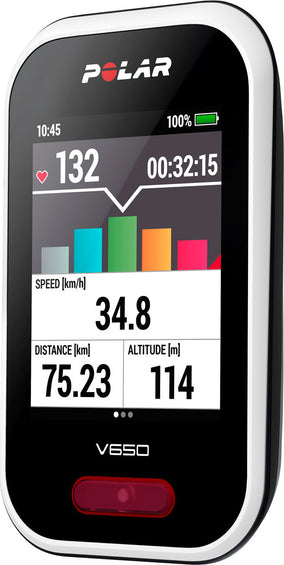 Polar V650 Heart Rate Cycling Computer