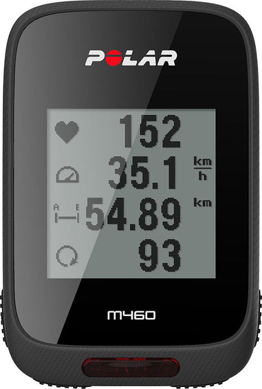 Polar M460 - GPS Bike Computer with Heart Rate Sensor