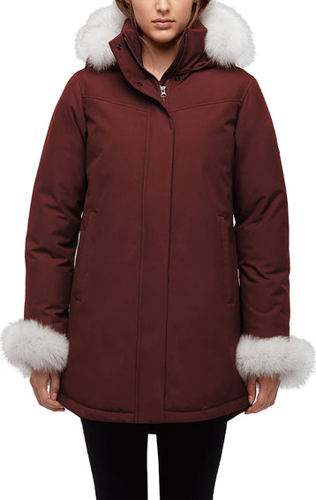 Quartz Co. Tundra Down Parka - Fox Fur - Women's