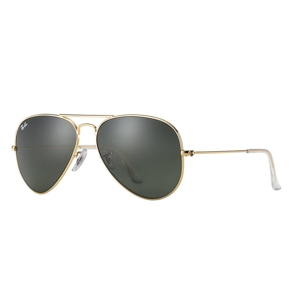 Ray Ban Aviator Classic - Gold Frame - Green Classic G-15 Lens ...
