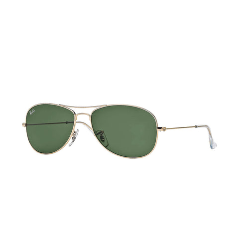 Ray-Ban Cockpit - Gold Frame - Green Classic G-15 Lens