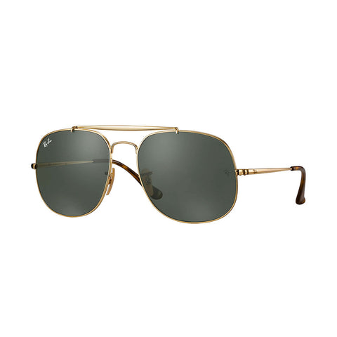 Ray-Ban General - Gold Frame - Green Lens