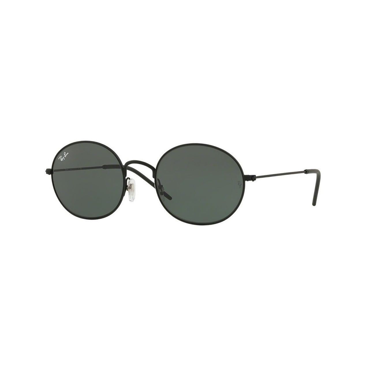 Ray Ban Rb3594 Sunglasses - Black Rubber Frame - Green Lens ...