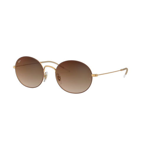 Ray-Ban RB3594 Sunglasses - Brown Gold Frame - Brown Gradient Lens