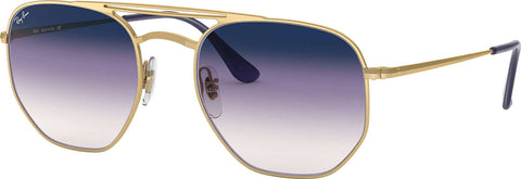 Ray-Ban RB3609 - Gold - Violet-Blue Gradient Mirror