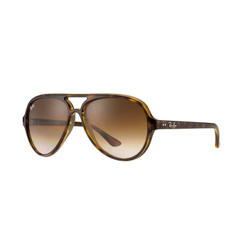 7d94fbdf101 lazy-loading-gif Ray-Ban Cats 5000 Classic - Tortoise Frame - Light Brown  Gradient Lens