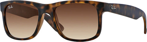 Ray-Ban Justin Classic - Tortoise - Brown Gradient (small)