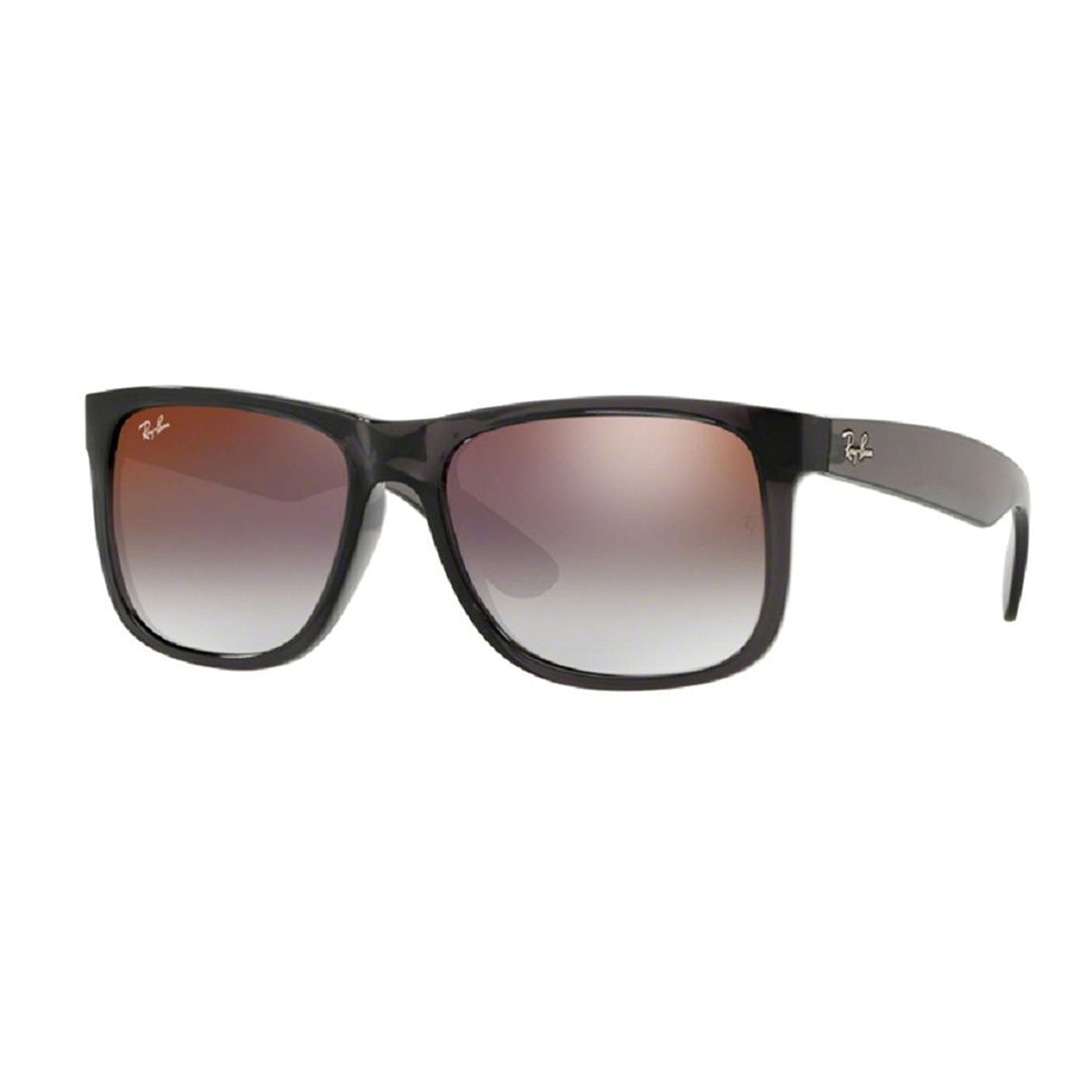 445a238d096 Ray-Ban Justin - Transparent Grey Frame - Grey Gradient Mirror Red Lens