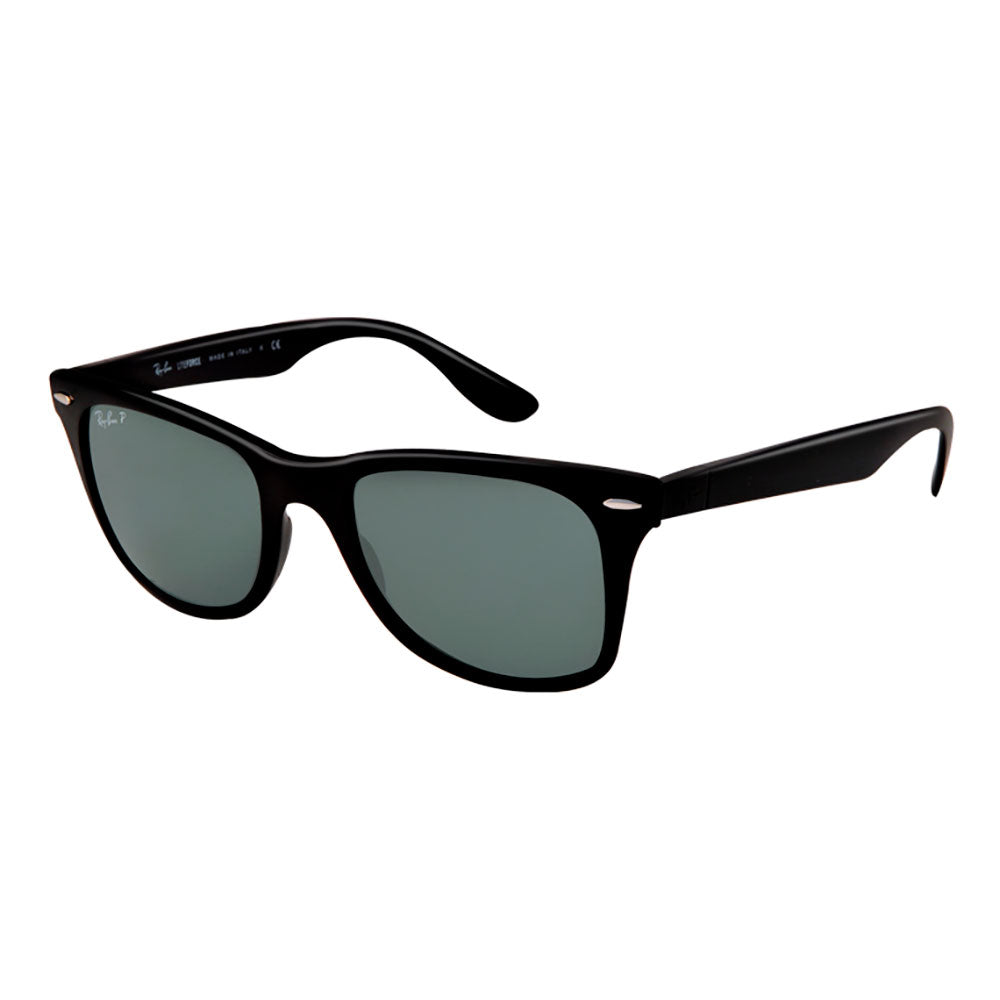 d43346efa34 Ray-Ban Wayfarer Liteforce - Matte Black Frame - Green Polarized Lens