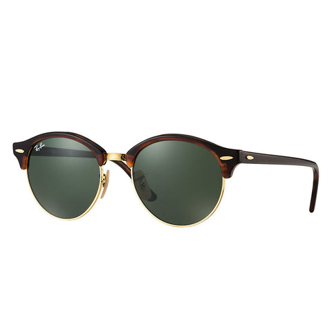 Ray-Ban Clubround - Tortoise Frame - Green Classic G-15 Lens