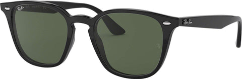 Ray-Ban RB4258 Sunglasses - Black - Green Classic
