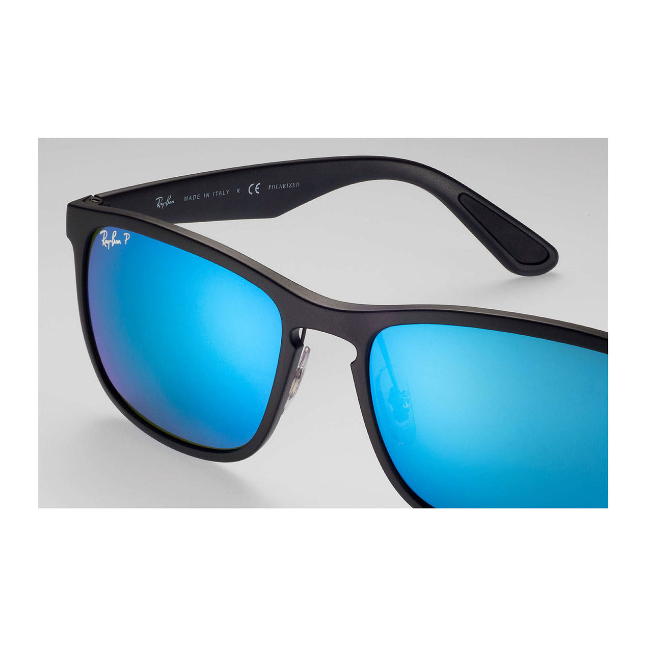 273e0ac51c86c Ray Ban Rb4264 Chromance - Black Frame - Blue Mirror Polarized Lens ...