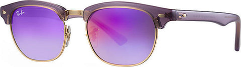 Ray-Ban Clubmaster Junior Sunglasses - Trasparent Violet