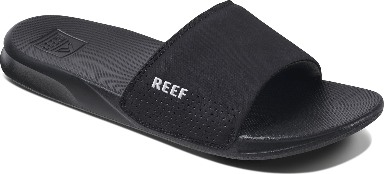 59782758e507 Reef One Slide Sandals - Men s Black ...