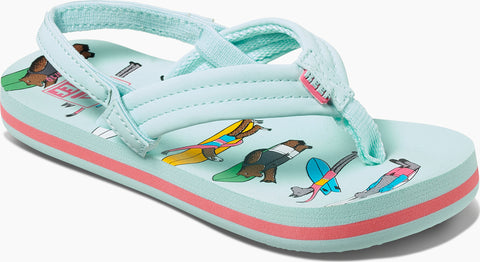 Reef Jonas Claesson Ahi Sandals - Little Girls