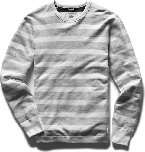 Reigning Champ Crewneck Striped Terry - Men's