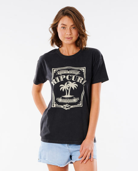 Rip Curl Panoma Oversized Cuff Tee - Women's