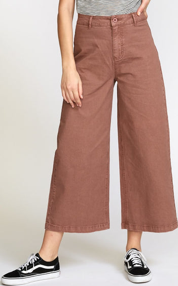 RVCA Niku High Waist Cropped Trouser - Women's