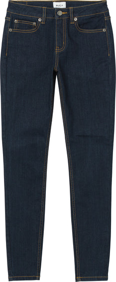 RVCA Dayley Skinny Mid Rise Jeans - Women's