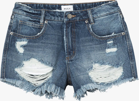 RVCA The BF Denim Shorts - Women's