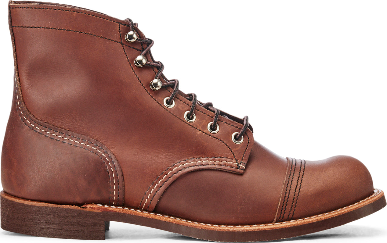85e393ccaa4 Red Wing Shoes Iron Ranger NO. 8111 - Amber Harness Leather Boots - Men's