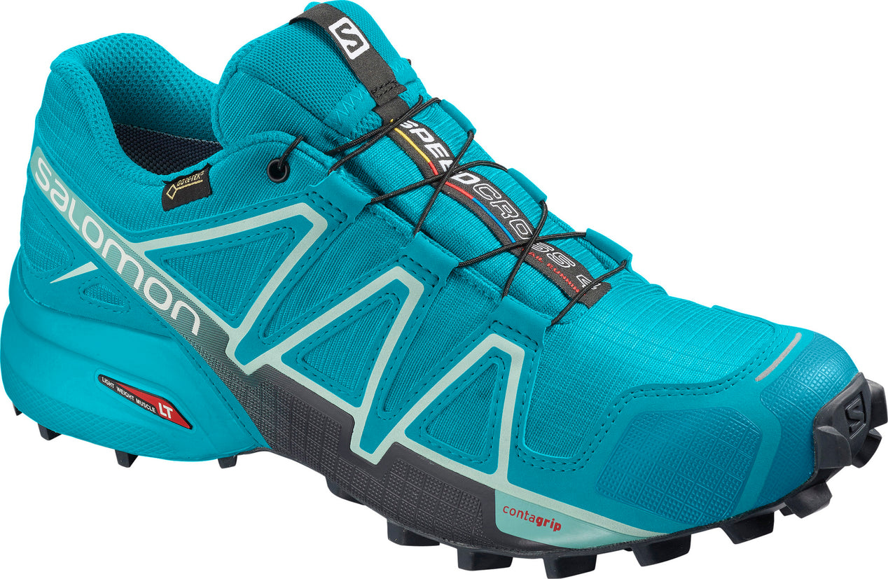 ... Women s Speedcross 4 GTX Trail Running ShoesBluebird - Icy Morn - Ebony  ... bd6783909f